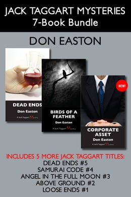 Book Jack Taggart Mysteries 7-Book Bundle: Corporate Asset / Birds of a Feather / Dead Ends / and more by Don Easton