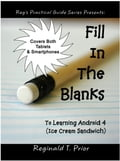 Fill In The Blanks To Learning Android 4 - Ice Cream Sandwich