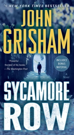 Book Sycamore Row: A Novel by John Grisham