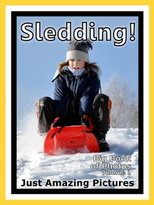 Just Snow Sleds Photos! Big Book of Photographs & Pictures of Sled & Sledding,  Vol. 1