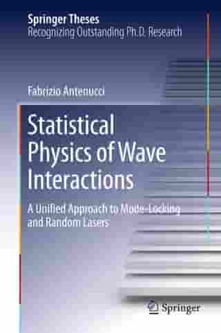 Statistical Physics of Wave Interactions: A Unified Approach to Mode-Locking and Random Lasers