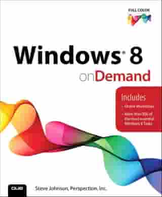 Windows 8 On Demand by Steve Johnson