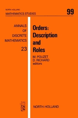 Book Orders: Description and Roles by Pouzet, M.