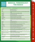 Medical Terminology:The Basics Speedy Study Guides by Speedy Publishing