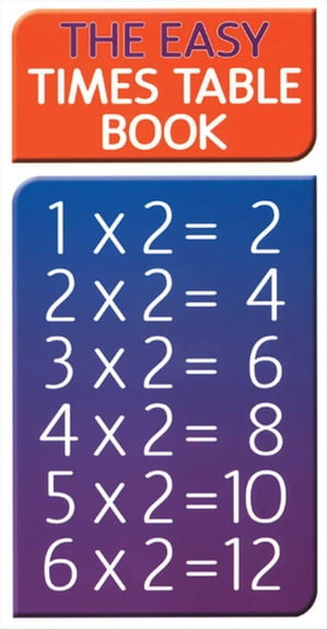 Easy Times Table Book