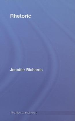 Book Rhetoric by Richards, Jennifer