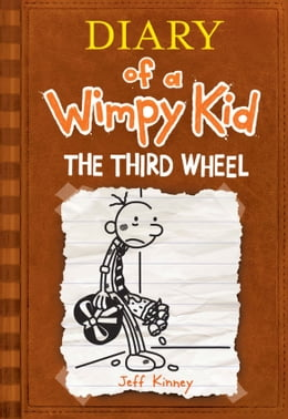 Book Diary of a Wimpy Kid: The Third Wheel: The Third Wheel by Jeff Kinney