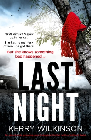 Last Night An absolutely gripping psychological thriller with a brilliant twist