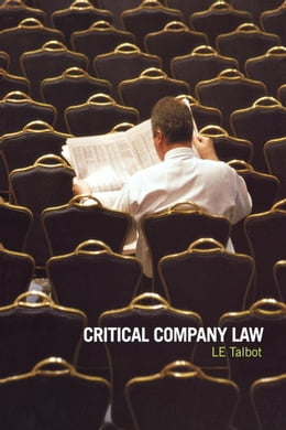 Book Critical Company Law by Talbot, Lorraine