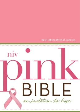 Book NIV, Pink Bible, eBook, Breast Cancer Edition: An Invitation to Hope by Jean E. Syswerda