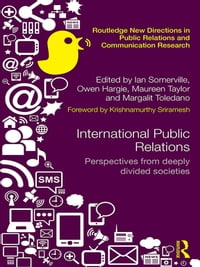 International Public Relations: Perspectives from deeply divided societies