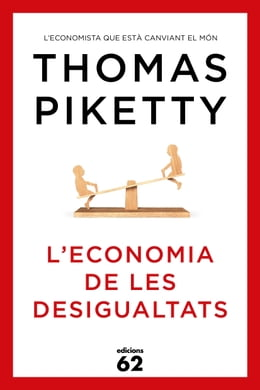 Book L'economia de les desigualtats by Thomas Piketty