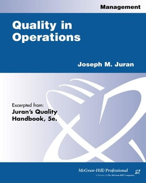 Quality in Operations