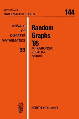 Book Random Graphs '85 by Karonski, M.