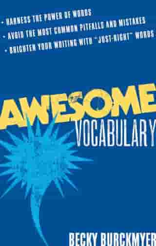 Awesome Vocabulary by Becky Burckmyer