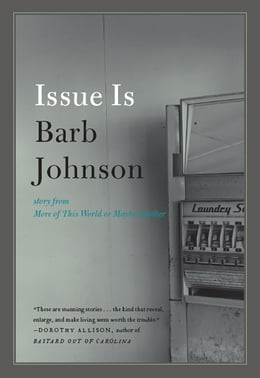 Book Issue Is by Barb Johnson