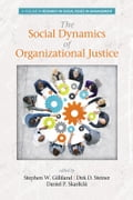 The Social Dynamics of Organizational Justice 65e3418b-80a8-4f41-841b-8634401efb65