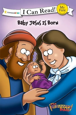 Book The Beginner's Bible Baby Jesus Is Born by Various Authors