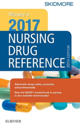 Book Mosby's 2017 Nursing Drug Reference by Linda Skidmore-Roth