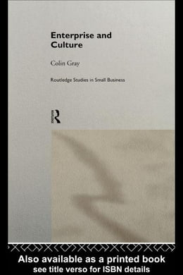 Book Enterprise and Culture by Gray, Colin