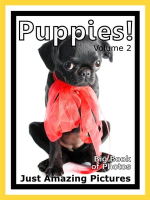 Just Puppy Photos! Big Book of Photographs & Pictures of Baby Dogs & Dog Puppies,  Vol. 2