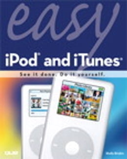Book Easy iPod and iTunes by Shelly Brisbin