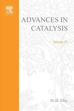 Book Advances in Catalysis by Eley, D. D.
