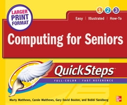 Book Computing for Seniors QuickSteps by Marty Matthews