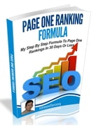 Page One Ranking Formula by Idrees Farooq