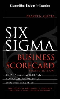 Six Sigma Business Scorecard, Chapter 9 - Strategy for Execution