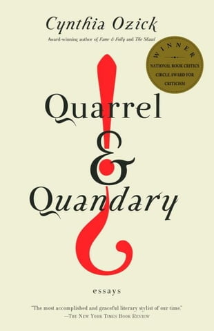 Quarrel & Quandary: Essays