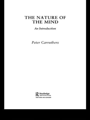 The Nature of the Mind An Introduction