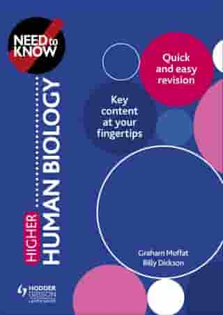 Need to Know: Higher Human Biology by Graham Moffat