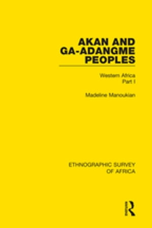 Akan and Ga-Adangme Peoples Western Africa Part I