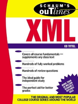 Book Schaum's Outline of XML by Tittel, Ed