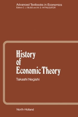Book History of Economic Theory by Negishi, T.