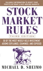 Stock Market Rules by Michael Sheimo