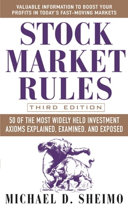Book Stock Market Rules by Michael Sheimo