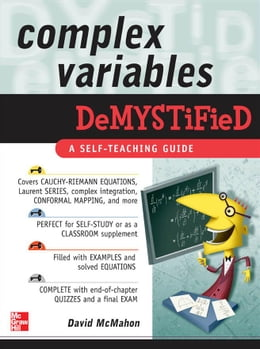 Book Complex Variables Demystified by McMahon, David
