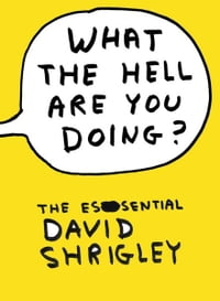 What The Hell Are You Doing?: The Essential David Shrigley: The Essential David Shrigley