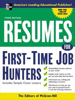 Book Resumes for First-Time Job Hunters, Third edition by McGraw-Hill Education