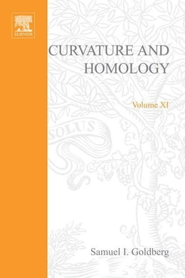 Book Curvature and homology by Goldberg, Samuel I
