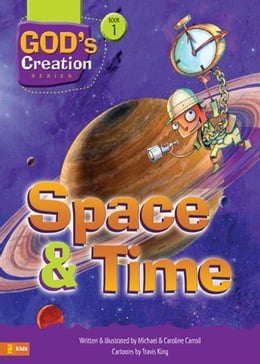 Book Space and Time by Michael Carroll