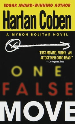 Book One False Move: A Myron Bolitar Novel by Harlan Coben