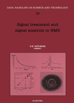 Book Signal Treatment and Signal Analysis in NMR by Rutledge, D.N.