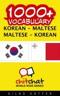 1000+ Vocabulary Korean - Maltese