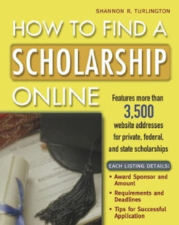 Book How to Find a Scholarship Online by Turlington, Shannon
