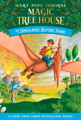 Book Dinosaurs Before Dark by Mary Pope Osborne