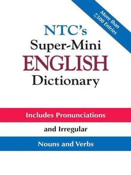 Book NTC's Super-Mini English Dictionary by Spears, Richard