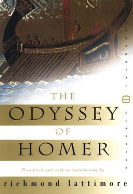 Book The Odyssey of Homer by Richmond Lattimore